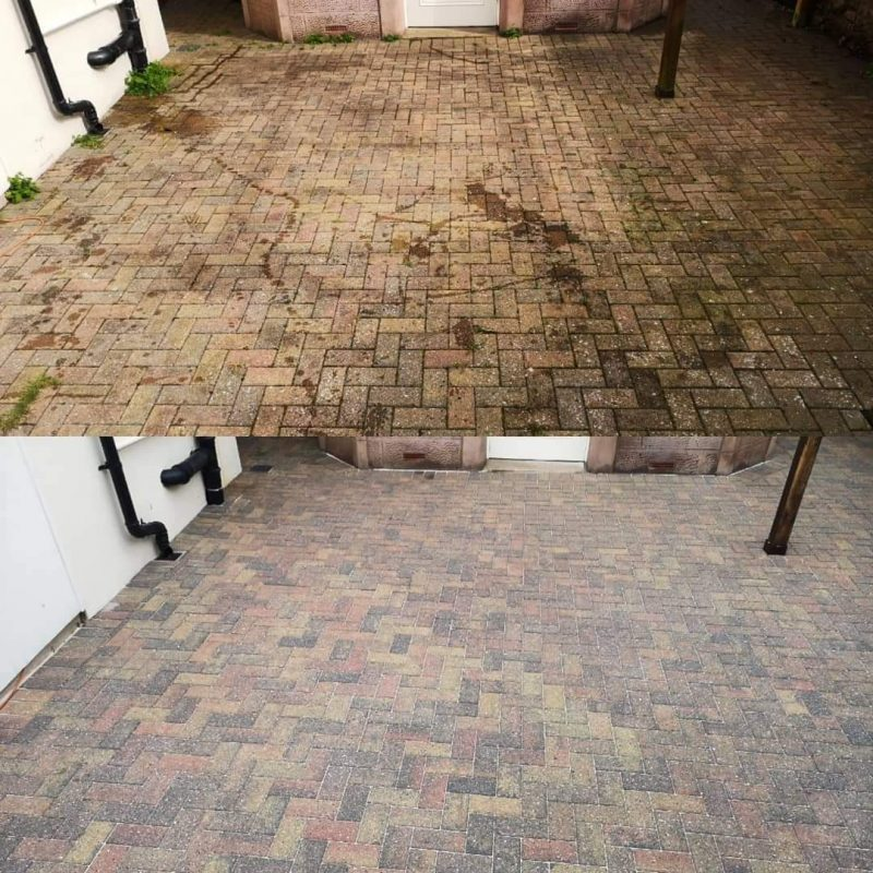 Patio and Driveway Cleaning - Blooming Gardens